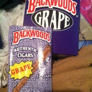 Grape and Vanilla Backwoods